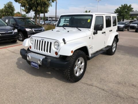 Pre-Owned 2012 Jeep Wrangler Unlimited Sahara 4x4 SUV