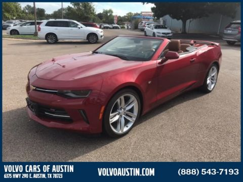 Pre-Owned 2016 Chevrolet Camaro 2LT Rear-wheel Drive Convertible