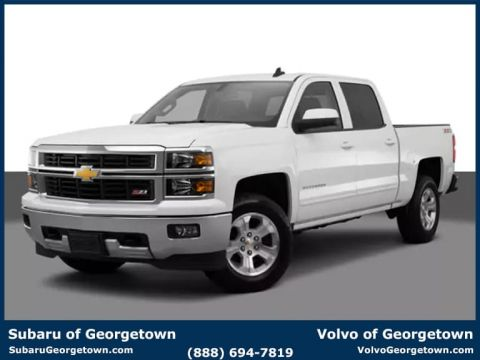 Pre-Owned 2015 Chevrolet Silverado 1500 LT 4x2 Truck Double Cab