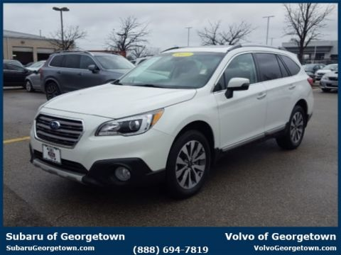 Certified Pre-Owned 2017 Subaru Outback 2.5i Touring with Starlink AWD