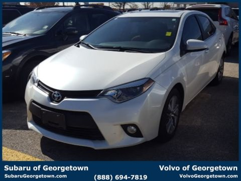 Pre-Owned 2014 Toyota Corolla  Front-wheel Drive Sedan