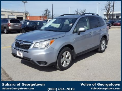Certified Pre-Owned 2015 Subaru Forester 2.5i Premium (CVT) AWD