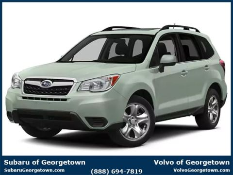 Certified Pre-Owned 2015 Subaru Forester 2.5i AWD