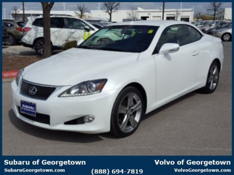 Pre-Owned 2013 Lexus IS 250C Base Rear-wheel Drive Convertible