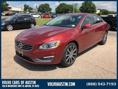 Certified Pre-Owned 2016 Volvo S60 T5 Drive-E Inscription Front-wheel Drive Sedan