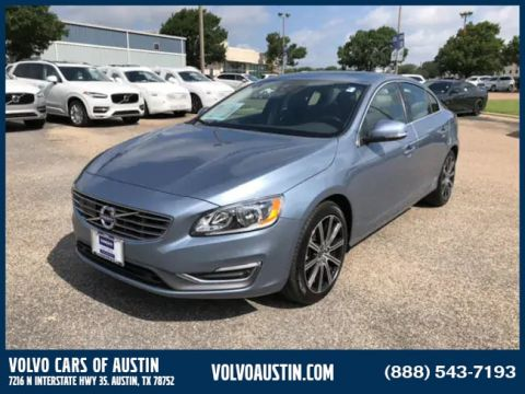 Certified Pre-Owned 2018 Volvo S60 T5 Inscription Front-wheel Drive Sedan