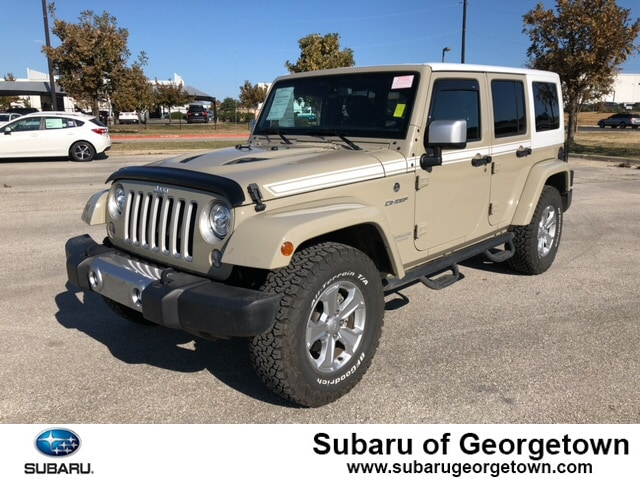 Pre-Owned 2017 Jeep Wrangler JK Unlimited Sahara 4x4