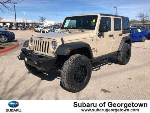 Pre-Owned 2016 Jeep Wrangler JK Unlimited Sport 4X4