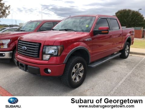 Pre-Owned 2012 Ford F-150 FX4 4x4 Truck SuperCrew Cab