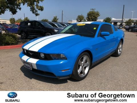 Pre-Owned 2010 Ford Mustang Rear-wheel Drive Coupe