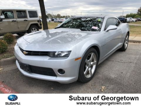 Pre-Owned 2015 Chevrolet Camaro LT w/1LT Rear-wheel Drive Coupe
