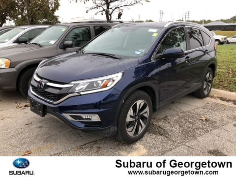 Pre-Owned 2015 Honda CR-V Touring FWD Front-wheel Drive SUV