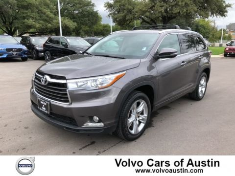 Pre-Owned 2015 Toyota Highlander Limited Front-wheel Drive SUV