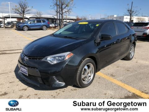 Pre-Owned 2015 Toyota Corolla Front-wheel Drive Sedan