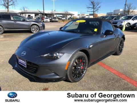 Pre-Owned 2016 Mazda MX-5 Miata Club Rear-wheel Drive Convertible